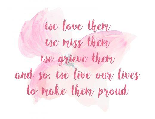 mommy blog, mom blog mom blogger, parental influencer, grief, loss, loved one